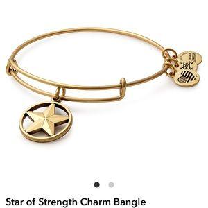 NWT star of strength Alex and ani bracelet